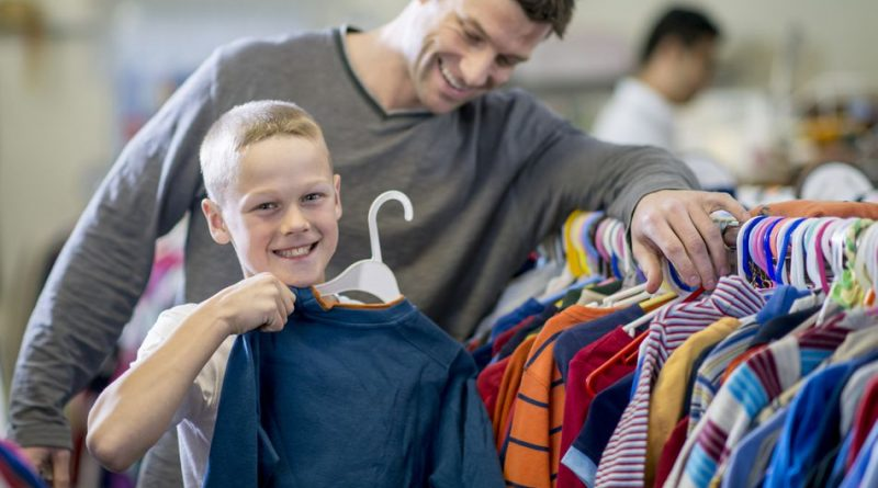 Purchasing Clothes for Boys