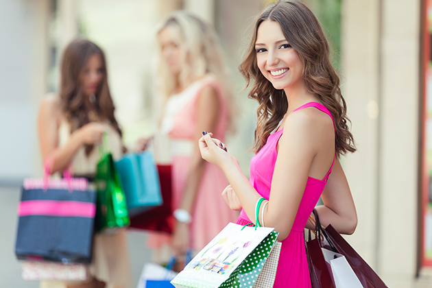 Ladies and Shopping